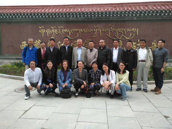 中国统促会组织海内外华文媒体赴西藏参观采访